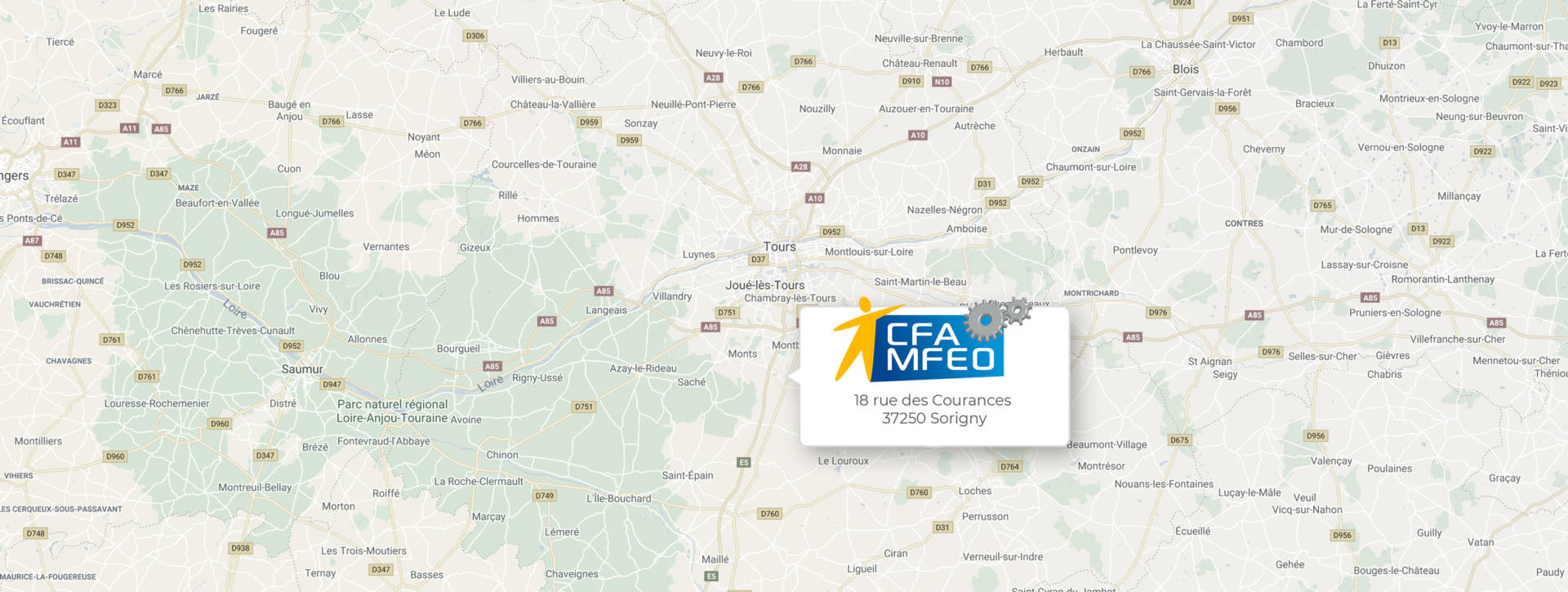 CFA MFEO / Se rendre à nos locaux
